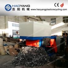 factory seller for double / single shaft pp pe film plastic shredder