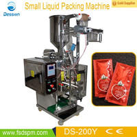 Small vertical automatic gino tomato paste packing machine DS-200Y