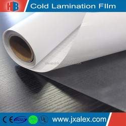 70micron/120gsm,PVC Self Adhesive Cold Laminating Film,Matte Photo Cold Laminating Film,Cold Laminating Film Rolls Wholesale