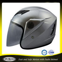 CE approval FUSHI China open face helmet for riding motorcycle