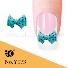 bow tie designs 3d nail art jewelry water transfers