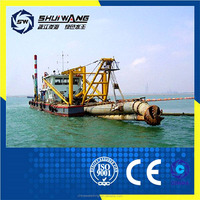 river sand pumping machine/sand cutter suction dredger, dredging equipment for flood and erosion control, shoreline protection