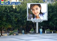 2012 new electronics inventions P12mm outdoor fullcolor advertising rotating advertising panel