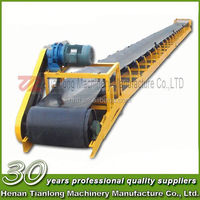 Simple Structure high inclination angle belt conveyor for Sand Making Plant