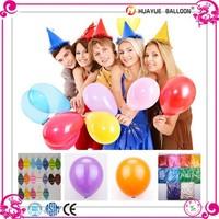 2015 Chinese Manufacturer Thanksgiving Decoration EN71 Standard shape Latex Balloon