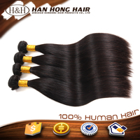 hot sale silky straight pussy with hair human hair extension hair weft