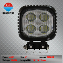 40w 6000k work lamp led for4*4 China factory gold Suppliers led light for car