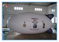 New design inflatable airship for advertising,inflatable spaceship,inflatable zeppelin for sale