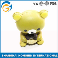Plastic Cute Bear Toys for Kids Pu Ball