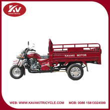 Popular high quality cheap air-cooled three wheel motor tricycle/motorcycle