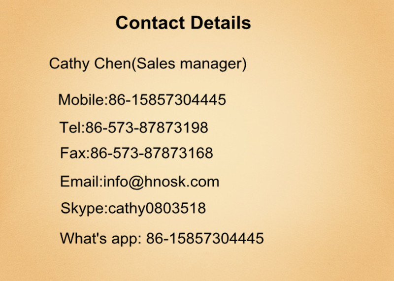 Cathy contact information