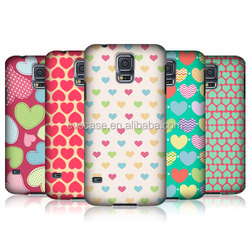 Sweet Heart Pattern Design One Piece Phone Case Attractive Wholesale