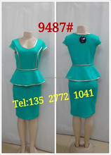 cheap price clothing manufacturer casual ladies dress