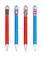 2015 Cheap personalised cartoon pens, wholesale promotional gifts pens for business