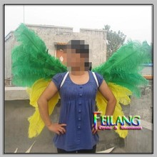 New Arrived Green Yellow Butterfly Wing Sexy Party Fairy Angel Wing