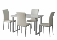 New Style MDF Dining Table And Chairs/Dining Room Set