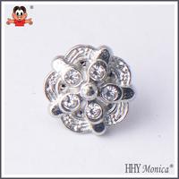 metal press stud buttons , silver buttons , diamond buttons