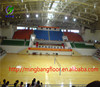 Hot sale plastic basketball court sport pvc floor