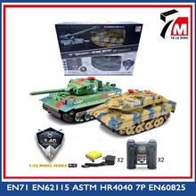 Toy manufacturer 1:32 scale 12ch 2.4G plastic rc toy battle tank