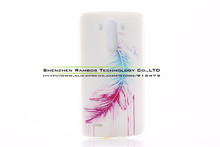 New Fashion Colored Painting Case Soft TPU Gel Back Cover Mobile Phone Cases Accessories for LG G3 Mini