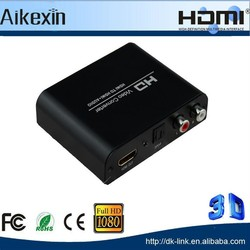 4K HDMI to HDMI + RCA L / R Audio Extractor Converter SPDIF for TV
