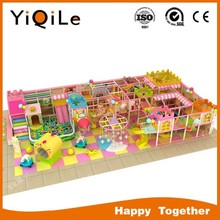 Tropical Style Kids Naughty Castle Equipment