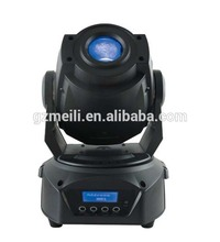 Lowest price!!!!!!!!!!White dmx gobo 90w spot dj light led gobo moving head
