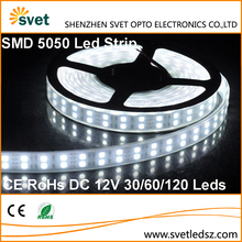 5000K 5050 SMD White Flexible Led Strip Light 120led/m 2 years Warranty