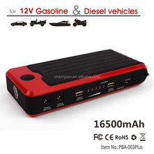 BSCI 165000mah emergency portable mini car jump starter 16500mah with SOS flashlight