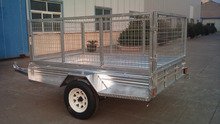 single rail motorcycle trailer