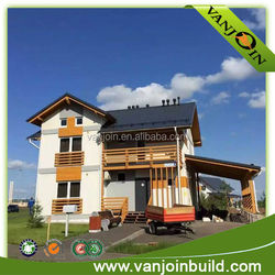 hot ready made prefab house with cheap price
