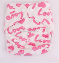 hot diaper girls washable baby cloth diapers and microfiber insert