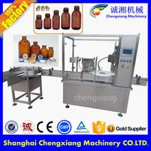 Comércio garantia máquina de enchimento líquido automático farmacêutica frasco máquina de enchimento