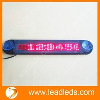 DIGITAL RUNNING NUMBERS DISPLAY JINGZHI WHOLESALE DC12V LIGHTING MESSAGE CUSTOM NEON SIGN FOR TAXI