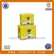 metal storage box/large tin cans/metallic box