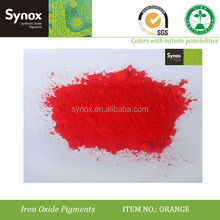 synthetic iron oxide orange foundry sands