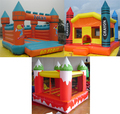 Salto inflable castillo hinchable