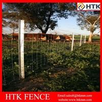 Plastic field fence