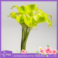 Hot sale High grade real touch PU latex artificial flowers calla lilies Party decorative flores