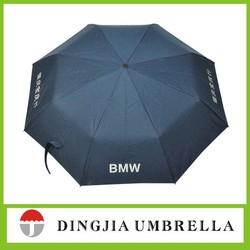 High quality adversing gift auto open foldable golf umbrella