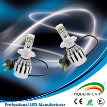 Energy saving automobile led driving light 3pcs led chips all in one car led projector headlight