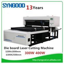 Wood Die board Laser cutting machine 300W 400W laser tube 18mm 22mm 23mm thickness