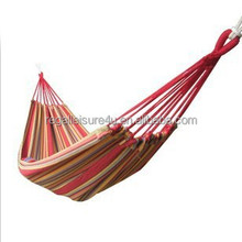 High quality outdoor camping hammock without wood bar