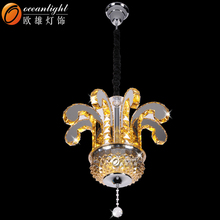 Ceiling light fixtures china material parts for chandeliers odeon glass fringe chandelier OM88569-8W