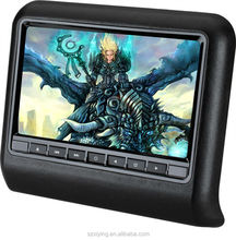 "2014 hot sell 9"" bracket headrest car DVD player with HDMI/MHL XD9901"
