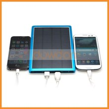 10000mah Big Panel Solar Power Li-ion Battery Charger for iPhone 6