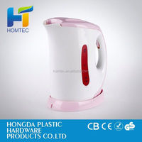 2015 new design electric induction kettle with filter