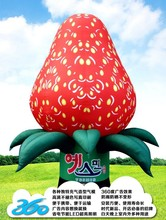 HD Digital Printing 3D cartoon strawberry boxes Inflatables