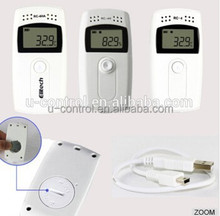 temperature controller data logger/electronic digital temperature recorder RC-4