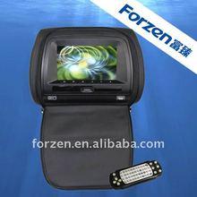 2012 new touch screen headrest car dvd player